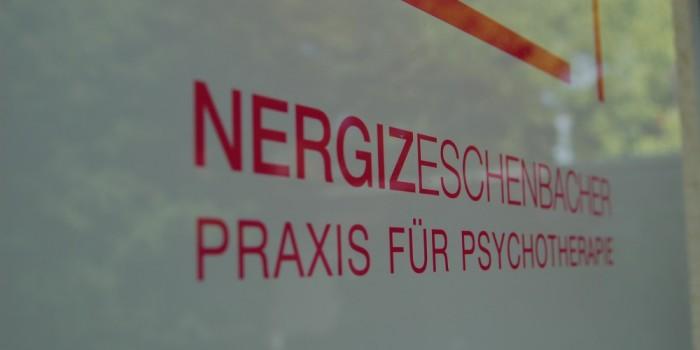 Praxisschild – Impressionen – Praxis für Psychotherapie Freising, Nergiz Eschenbacher