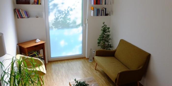 Praxisraum II – Impressionen – Praxis für Psychotherapie Freising, Nergiz Eschenbacher